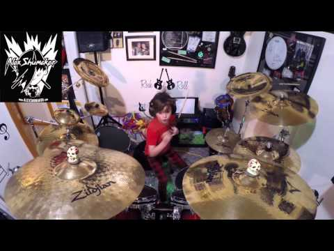Alex Shumaker Drum Cover Skid Row