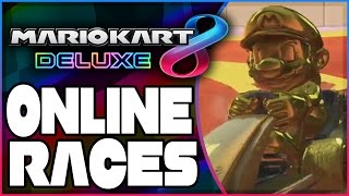 mario kart 8 deluxe online races part 1   launch day livestream nintendo switch gameplay