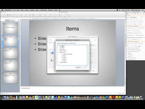 how to create hyperlink to powerpoint