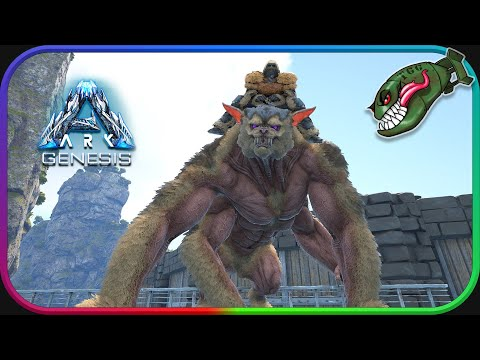 Ark: Genesis | Taming Ferox, Element Rage Is FUN! #14 (Ark Genesis Part 1 DLC)