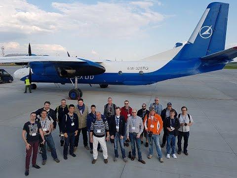 Flying the Antonov-26 in Belarus with Full cockpit footage