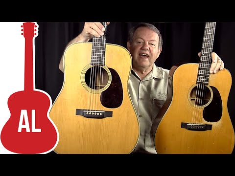 Vintage 1944 Martin D18 vs D28 - How do they sound?