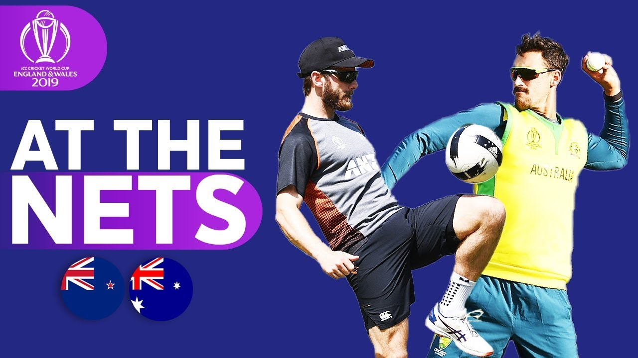 NZL v AUS - At The Nets | ICC Cricket World Cup 2019
