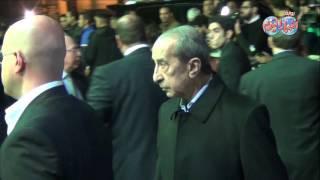 الإعلامي حمدي قنديل في عزاء هيكل