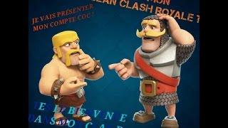 Présentation de mon clan clash of clans et clash royale | et aussi présenter mon compte clash clans!