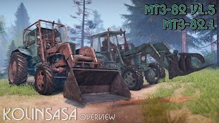 Spintires 2014 - МТЗ-82 v1.5 и МТЗ-82.1
