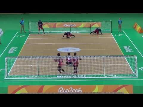 Paralympic Games 2016 Goalball Female USA 5 x 3 JPN
