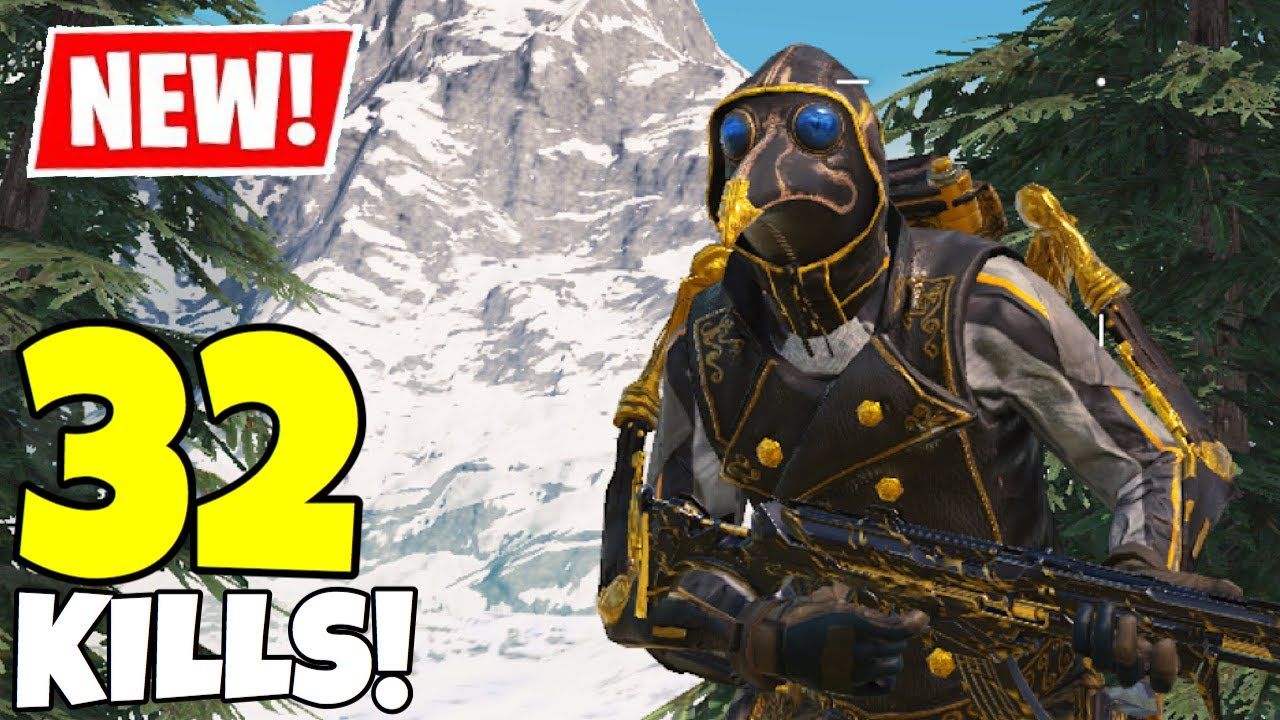*NEW* WITCH DOCTOR GAMEPLAY IN CALL OF DUTY MOBILE BATTLE ROYALE!