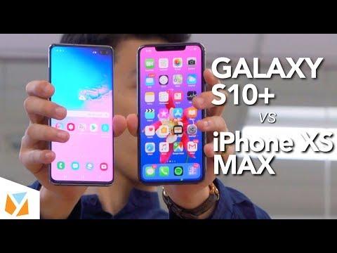 Samsung Galaxy S10 Plus vs iPhone XS Max Comparison Review