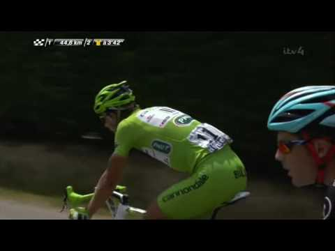 2013 Tour de France Stage 15 Highlights