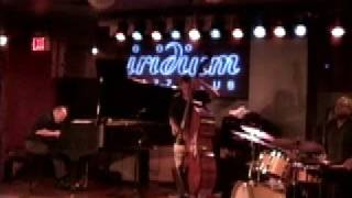 totally improvised David Leonhardt trio New York City Jazz