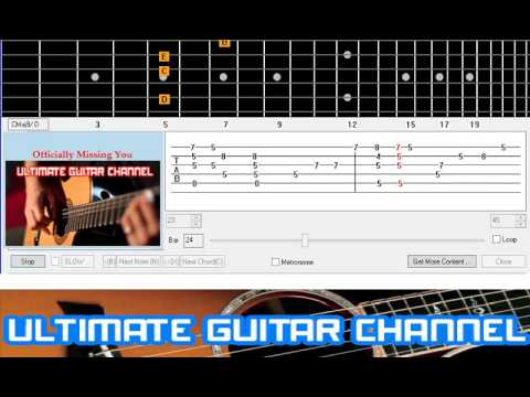 Guitar Solo Tab] Officially Missing You (Tamia) - YouTube