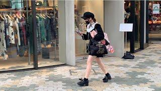 Стрит стайл в Токио. Как одевается японская молодежь. Японская мода на улице Такесита Дори.