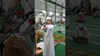 AZAN USTAZ FAHMI ASYRAF Solat Tarawih 6 Ramadhan - 31 Mei 2017
