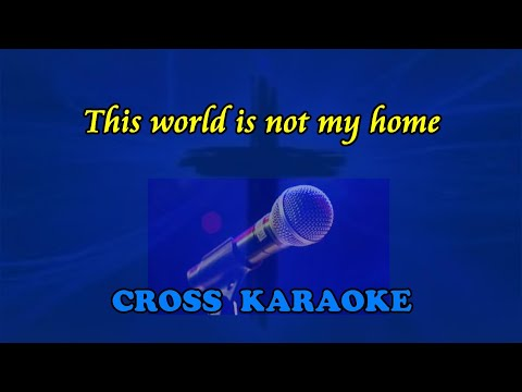 Jim Reeves - This World is not My Home - instrumental karaoke backing. by Allan Saunders