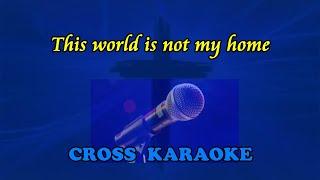 Jim Reeves - This World is not My Home - instrumental karaoke backing. by Allan Saunders