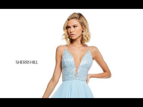 7ddd3380071d Sherri Hill 52589 Prom Dress - YouTube