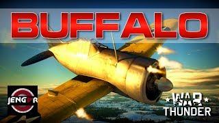 War Thunder Realistic: F2A-1 Buffalo [Master of Shenanigans!]