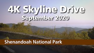 4K Skyline Drive - Shenandoah National Park