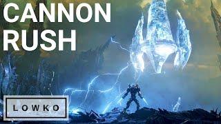 StarCraft 2: EXTREME Cannon Rush!