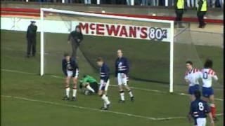 Season 1992-93 - Dundee Vs Rangers (26th December 1992)