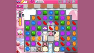 Candy Crush Saga Level 1493  - no boosters