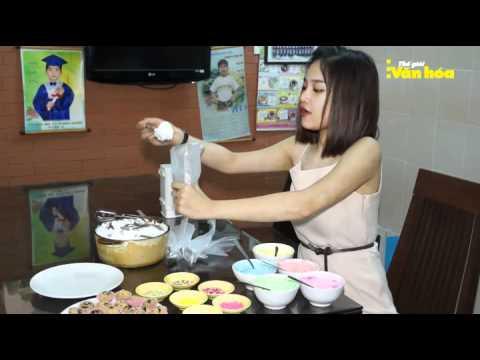 Miu Lê làm bánh mừng Lễ tình nhân