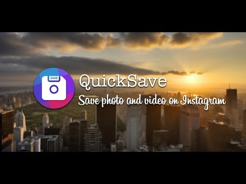 can you save pictures from instagram