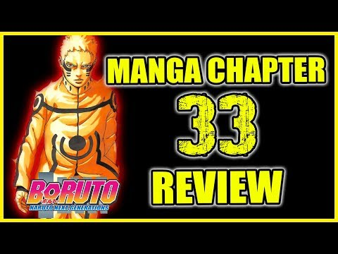 Boruto Manga Chapter 33 | Super Massive Rasengan