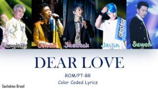 SECHSKIES - Dear Love (Color Coded Lyrics ROM/PT-BR)