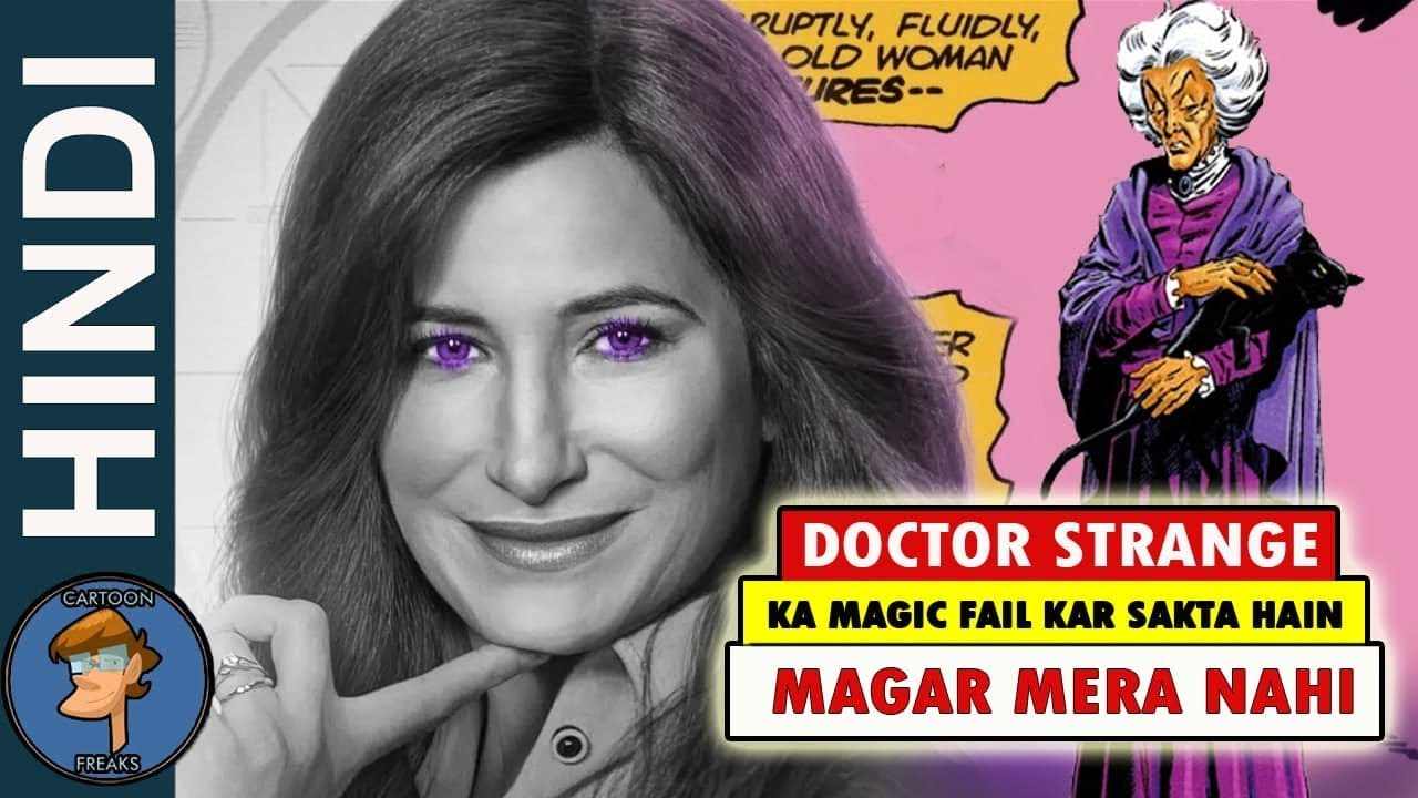 Things You Don't Know About Agatha Harkness AKA Agnes In HINDI  @Cartoon Freaks ​