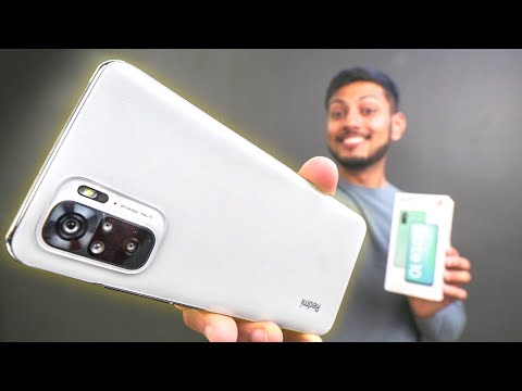 Redmi Note 10 Unboxing and Quick look – Amazing Value !