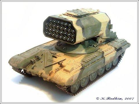 """""""Буратино"""".Тяжёлая огнемётная система залпового огня.  Российское  оружие."""