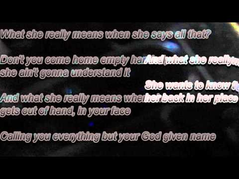 Jaheim - What she really means (Lyrics)
