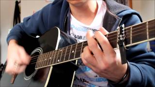 Be your everything by boys like girls cover guitar