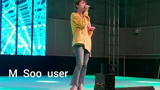 4K 191031 PUNCH LIVE 펀치 DONE FOR ME (호텔 델루나_Hotel Del Luna OST PART 12) FANCAM 농수산대학축제 by M Soo user