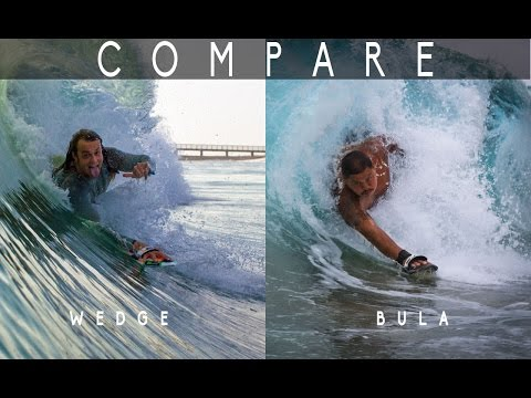 Slyde Handboards Board Comparison: Bula & The Wedge Handboard