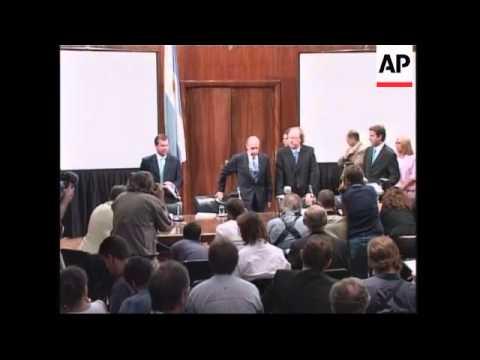 Argentina Seeks Agreement On Debt Restructuring