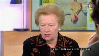 Danielle Merian, la militante qui a ému la France - C à vous - 02/11/2016