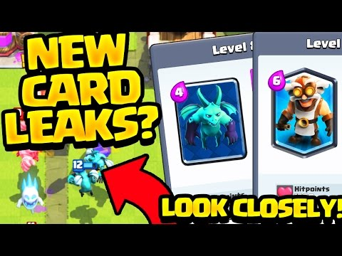 Clash Royale NEW Card LEAKS? The TRUTH