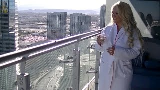 Hotel Room Tour!!! Wraparound Suite - Las Vegas Cosmopolitan