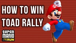 Super Mario Run : How to win at Toad Rally (Best Tutorial) Resimi
