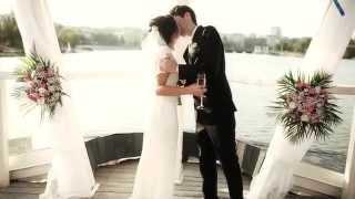 Романтичная выездная церемония в Донецке