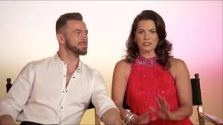 Nancy Kerrigan & Artem Chigvintsev DWTS Season 24 Soundbites
