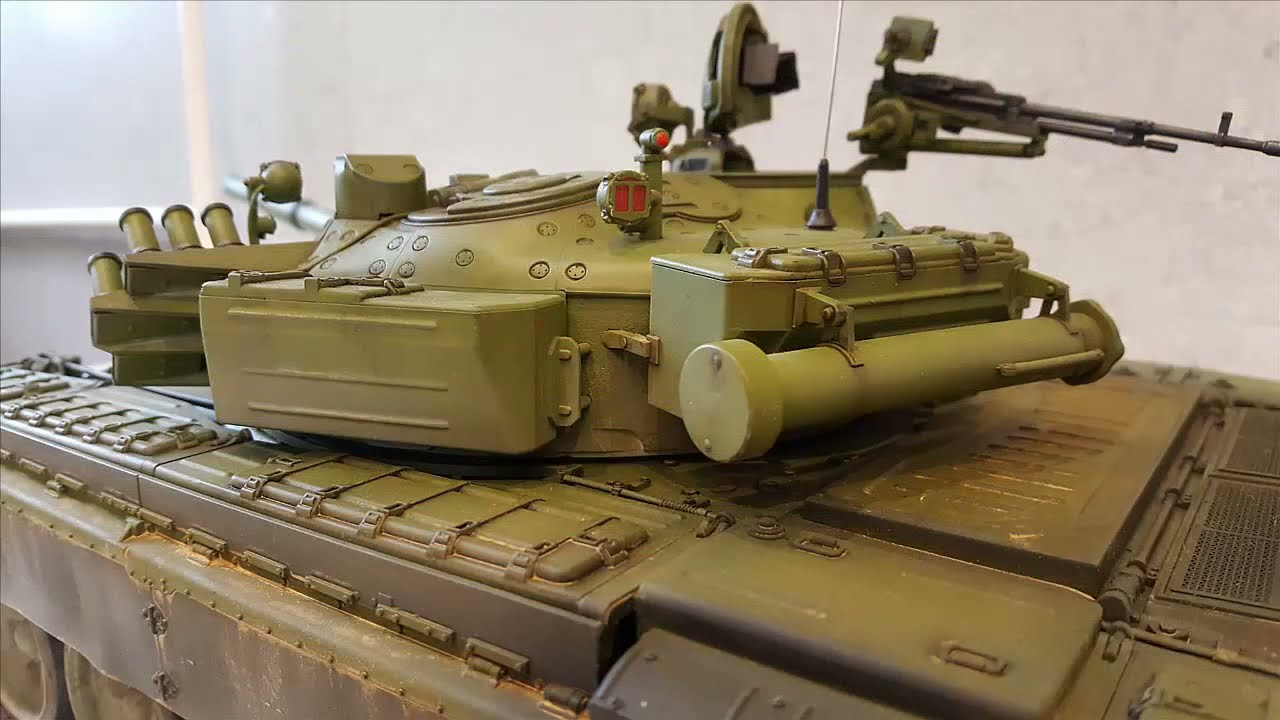 5406a0697df5 Trumpeter T-72B MBT 1 16 scale - YouTube