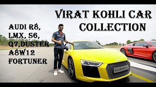 VIKRAT KOHLI Car Collection || AUDI R8, R8 LMX, Q7, A8 W12 Etc ?????????//////