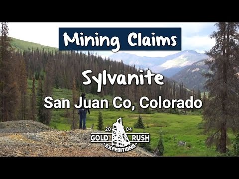 Sylvanite Gold Mine Claim - Colorado - 2016- Gold Rush Expeditions, Inc.