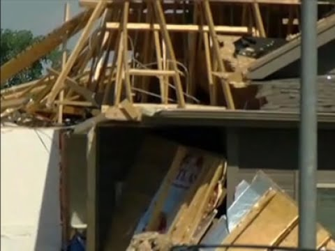 Raw: Power Outages in Nebraska After 4 Tornadoes