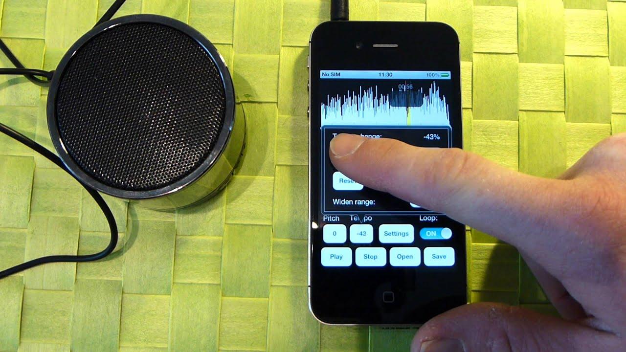 Music Speed Changer App For Ios Ipad Iphone Ipad Youtube