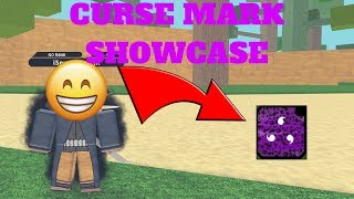 NRPG: BEYOND| CURSE MARK SHOWCASE [ROBLOX]